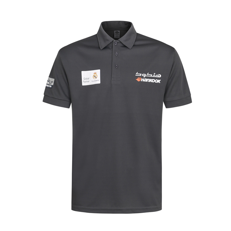 Mesh Moisture Quick Dry Wicking Short Sleve Uniform Printed Custom Polo Shirt with Manufacturer China Factory