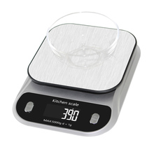 Coffee Timer Function Electronic Digital Cooking Kitchen Food Scale