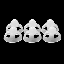 White Silicone Open Domes Thin Tube Brush Accessories For Open Fit Hearing Aid