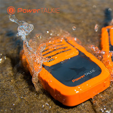 IP67 waterproof  anti drop and shockproof TPU power talkie with 6000mah battery