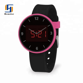 Quartz Silicone Satch For Ladies
