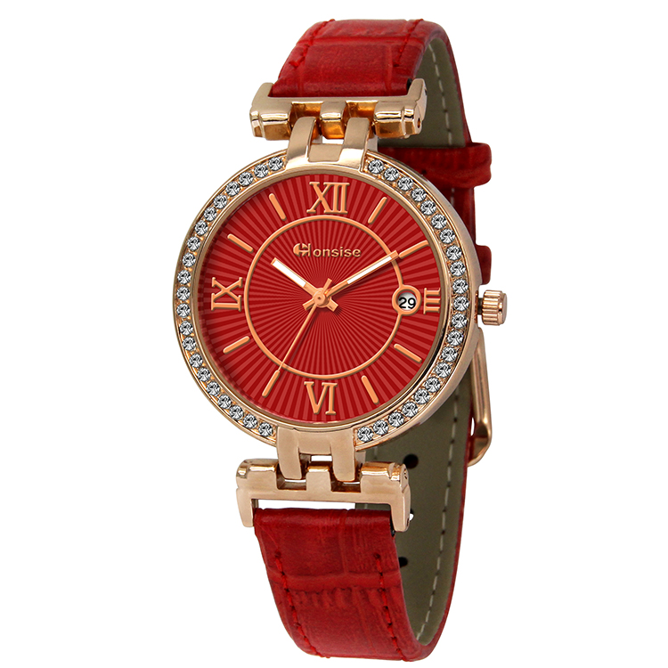 Diamond Case Watch For Lady