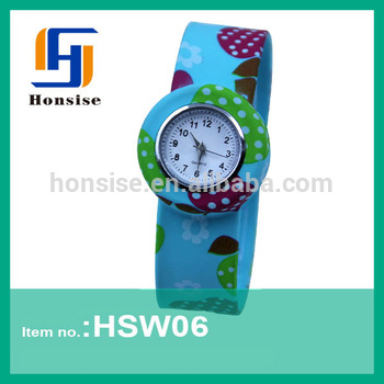 Custom Silicone Kid Watch