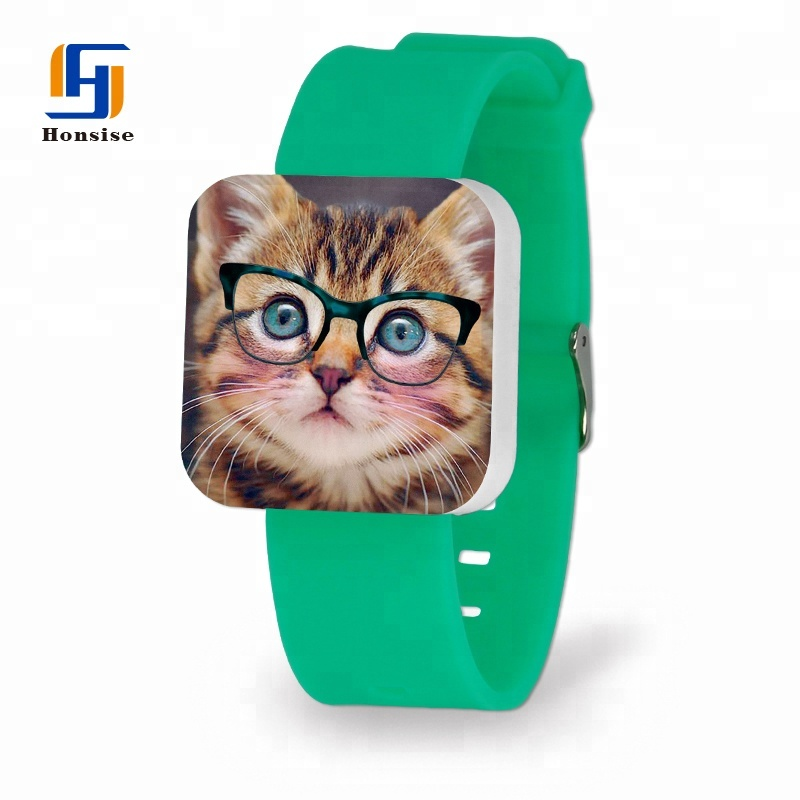 Cartoon Adult LED Touch Sports Watch