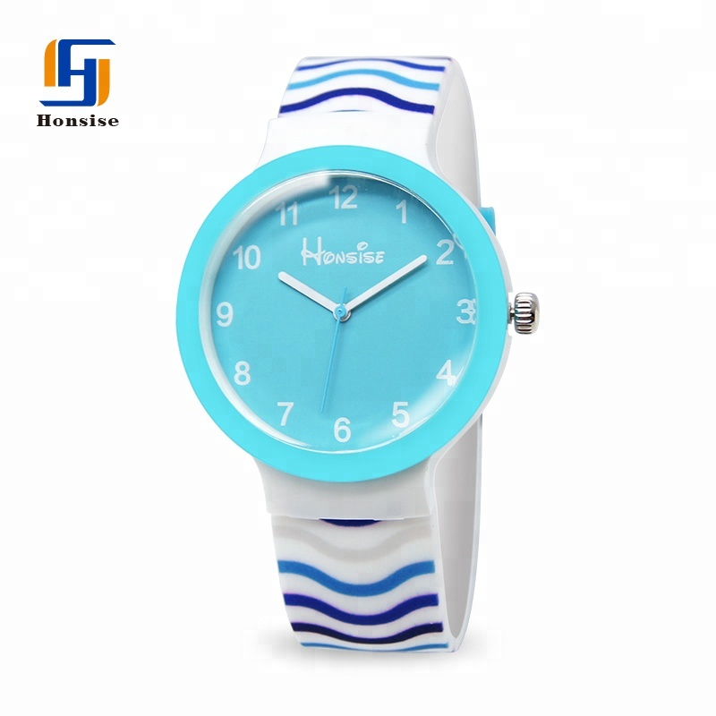 Custom Logo Round Watch For Children
