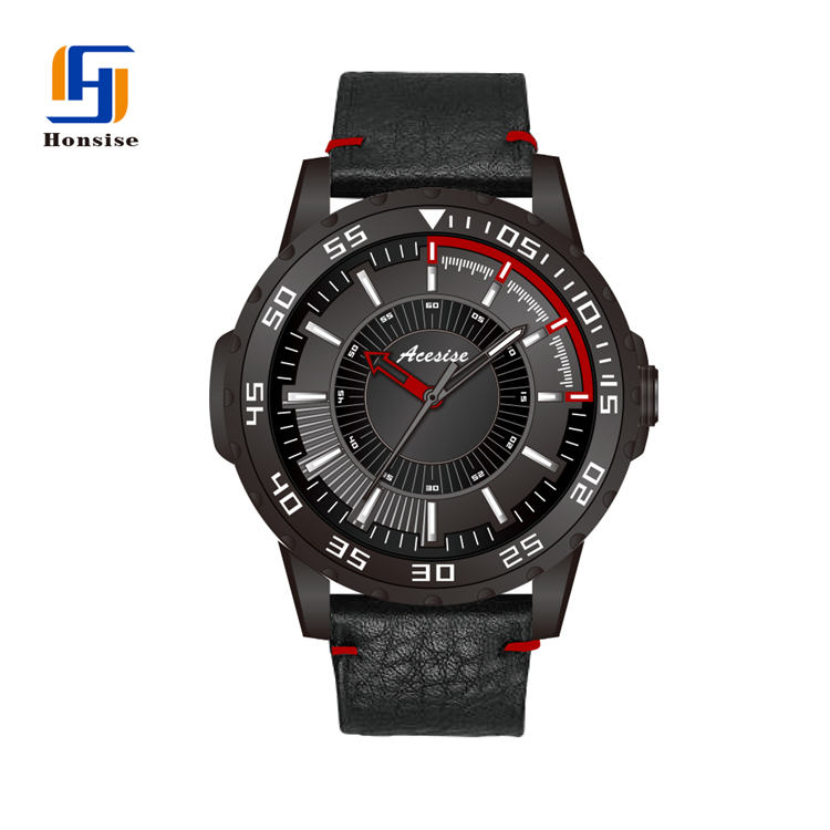 Custom Sport Style Man Wrist Watch