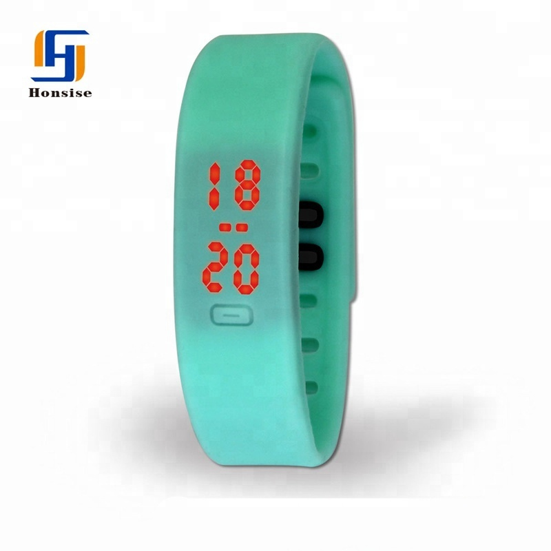 Custom Silicone Led Bracelet Watch