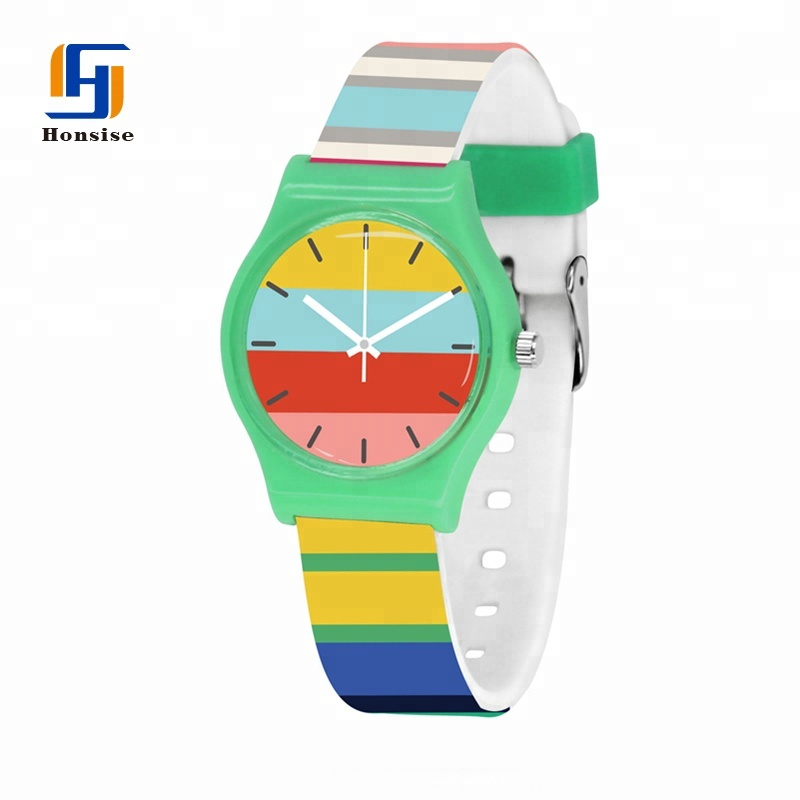 Silicone Custom Kids Watch