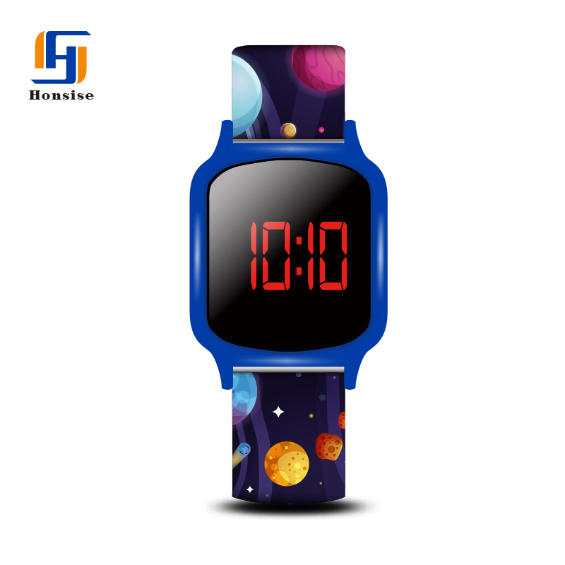 Silicone Soft Straptouch Screen Watch