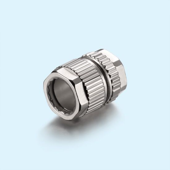Zinc alloy connector housing