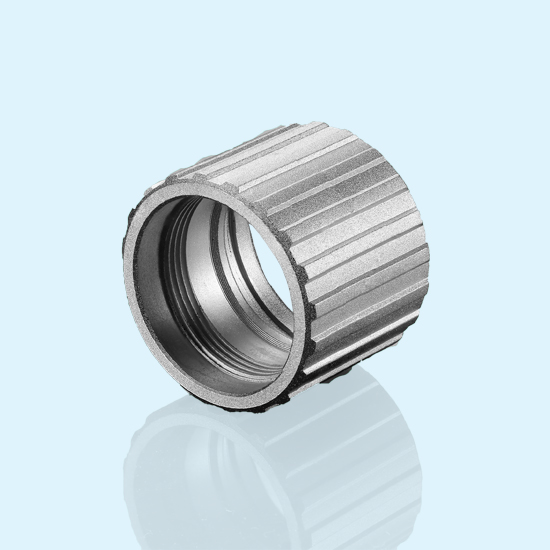 High Pressure Zamak3 Die Cast Thread Connector Housing Applied In Industrial Filed