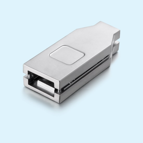 Professional Hot Chamber Die Casting Service Company Perform High Precision Zinc Die Cast Usb Connector Shell