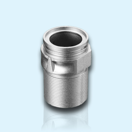 Industial Thread High Pressure Housing Zink Alloy Die Casting Connector Shell