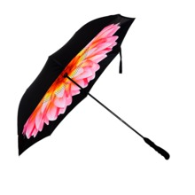 High quality Chinese products  auto open and close inverted umbrella