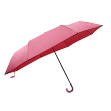 Hot Selling  Umbrella 3 Fold  red umbrella