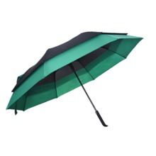 Cheap green stretch umbrella made in China