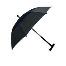 Wholesale Logo Printing walking stick umbrella