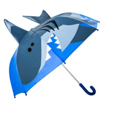 Wholesale shark Umbrella animal kid umbrella