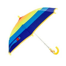 Kids rainbow umbrella for rain