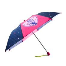 Wholesale two folding kids umbrella