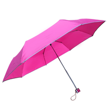 popular modern design three folding umbrella