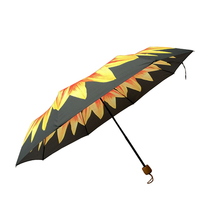 wholesale three folding China umbrella for market