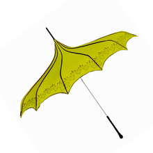 Cheap yellow pogoda umbrella for hot sale