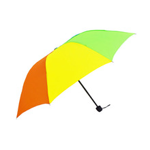 Hot sell  rainbow three folding unbrella
