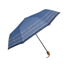 Rainbow Design Lady Reverse Folding Umbrella