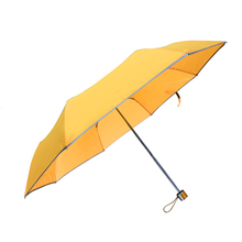 Get Custom Three-folding umbrella with custom logo print umbrellas Latest Price