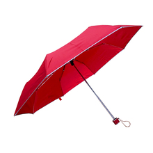 Promotional Cheap Hot Seller Three-Folding Auto Open And Open Rain Windproof Print Customized Logo Umbrella