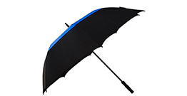Golf umbrella double layer with air vent double color auto open