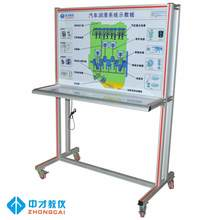 Automobile engine lubrication system training platform