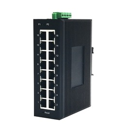 High Quality Industrial Gigabit Ethernet Switch IES3016
