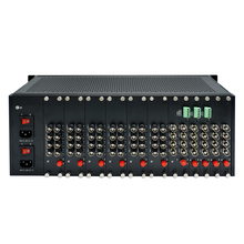Chinese Famous HD Video Fiber Converter Chassis