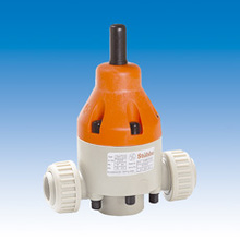 stubbe diaphragm valve PP/PVC/PTFE material,working in special environment