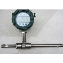 turbine flow meter using in different environment flange/thread connection