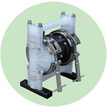Aluminum alloy pneumatic diaphragm pump 3