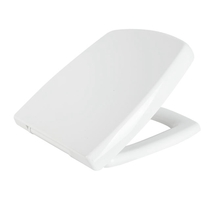 White Square Toilet Seat