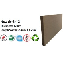 12mm Fire Resistant Wood Fiber Board