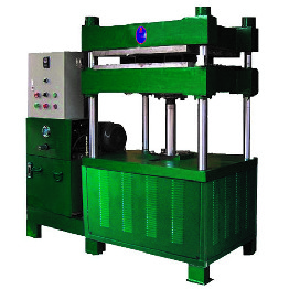 5 Tons Single-station Rubber Polymer Hydraulic Hot Press Machine