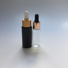 30ml small cosmetic bottle with gold dropper