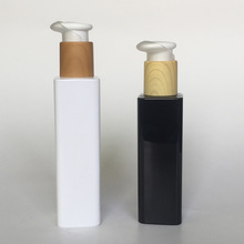 180ml 160ml square pump cosmetic bottle