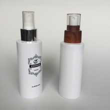 150ml lotion PET plastic bottle with spray pump