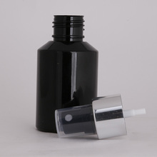 100 ml black spray pump bottle