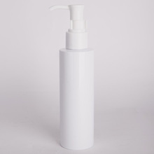 120 ml white lotion pump bottle