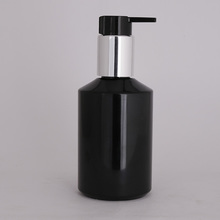 100ml new product black lotion bottle with pump