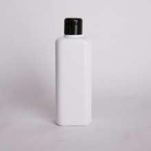 Customized squeeze 90ml white plastic PET bottle