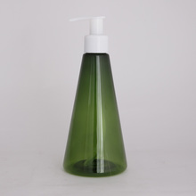 150ml PET pump dispenser shampoo bottle