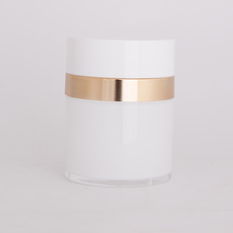 30ml empty aluminum moisturizer jar
